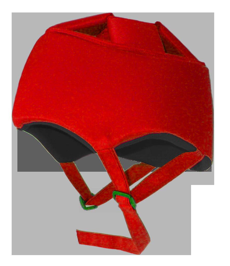 Röd hjälm